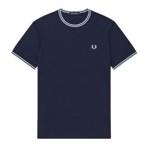 Fred Perry T-shirt Twin Tipped Carbon Blue M1588-584