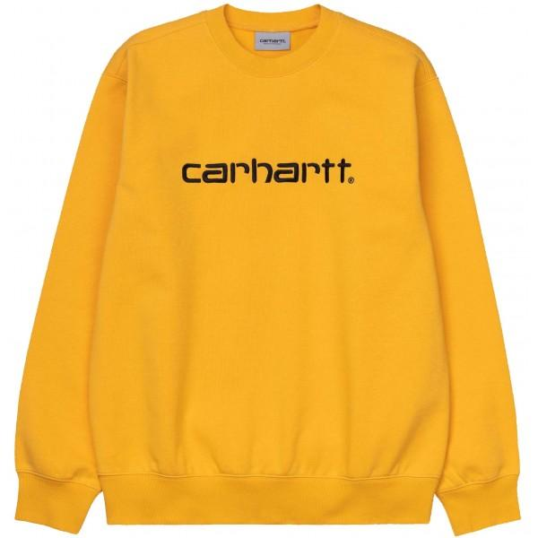 Carhartt Sweatshirt Sunflower Black