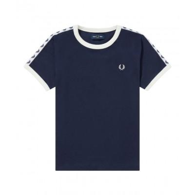 Fred Perry Kids Taped Ringer T-Shirt SY6347-885