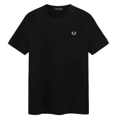Fred Perry Abstract Tipped Polo Black M8531-102