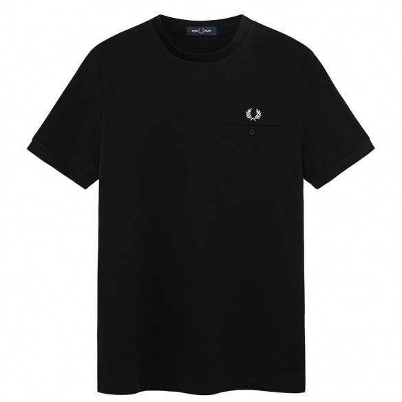 Fred Perry Polo Abstract Tipped Black M8531-102