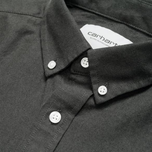 Carhartt Dalton Shirt Black Shiver