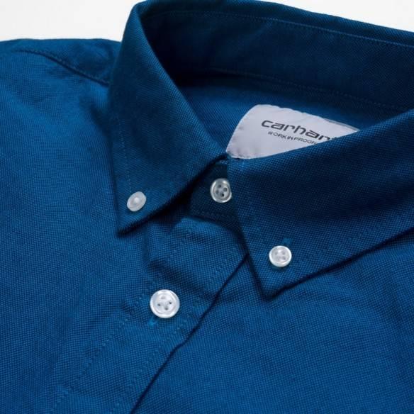 Carhartt Camisa Dalton Dark Navy Azzuro