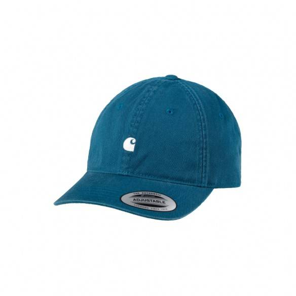 Carhartt Madison Logo Cap Moody Blue