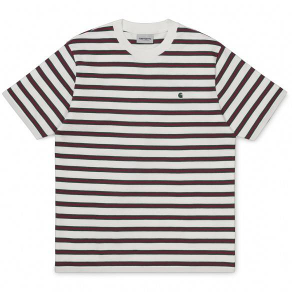 Carhartt Oakland Stripe T-Shirt Wax Treehouse