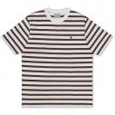Carhartt T-Shirt Oakland Stripe Wax Treehouse