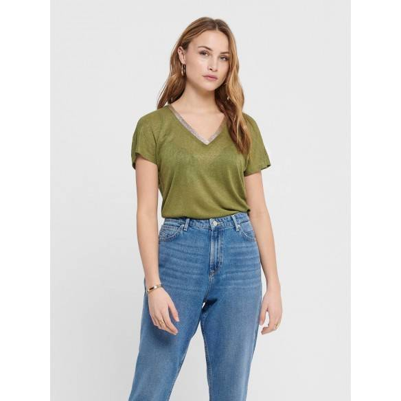 Only Riley Top Martini Olive