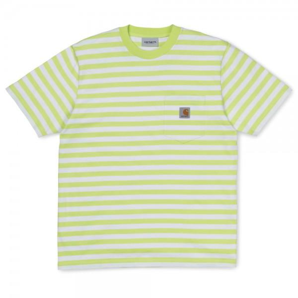 Carhartt T-Shirt Scotty Pocket Lime