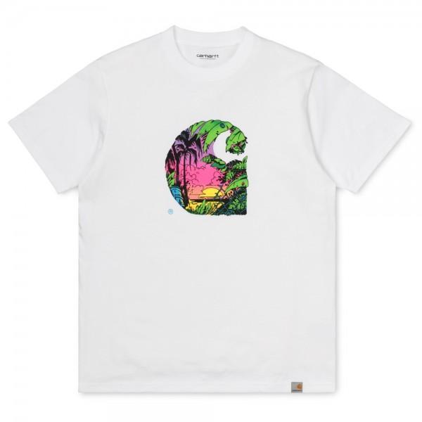Carhartt T-Shirt Sunset C White