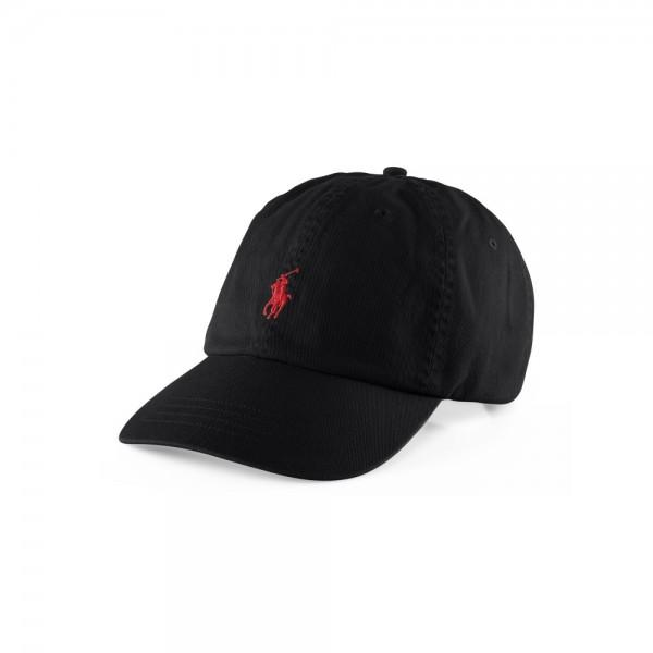Polo Ralph Lauren Boné Sports Cap Black