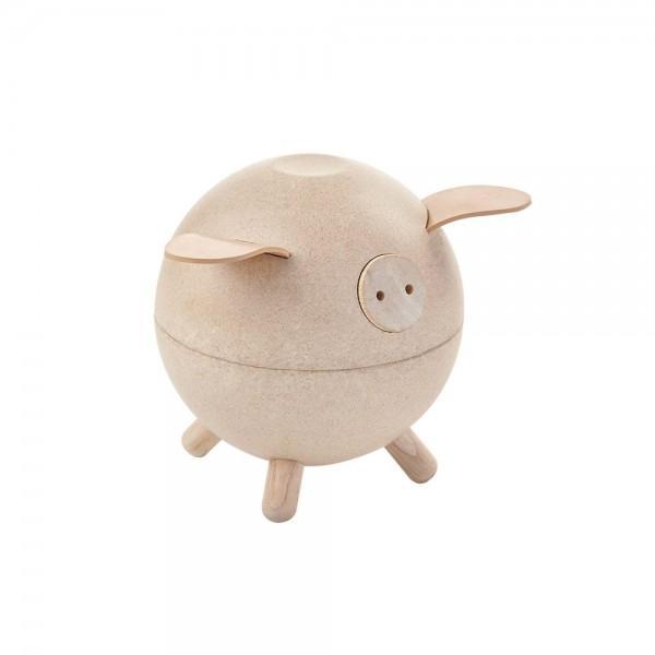 Plan Toys Porco Mealheiro White