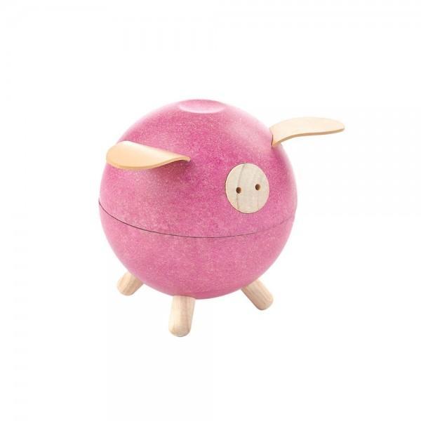 Plan Toys Piggy Bank Pink