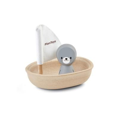 Plan Toys Sailing Boat Seal