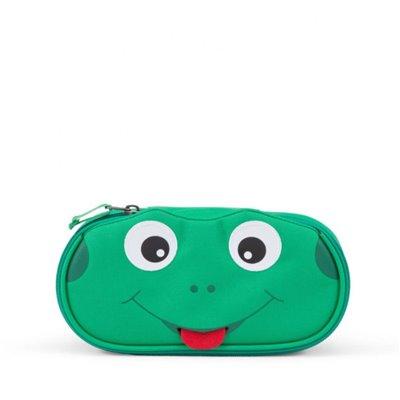 Affenzahn Finn Frog Pencil Case Green