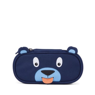 Affenzahn Bobo Bear Pencil Case Blue
