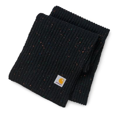 Carhartt Cachecol Anglistic Black Heather