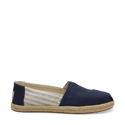 TOMS Classic Navy Ivy League Stripes