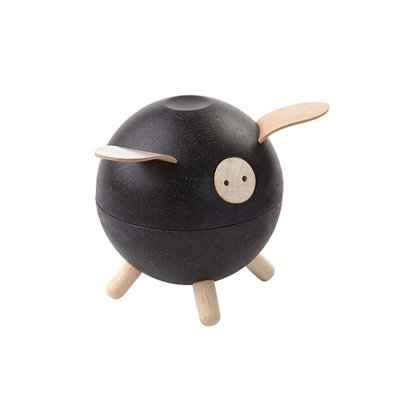 Plan Toys Porco Mealheiro Black