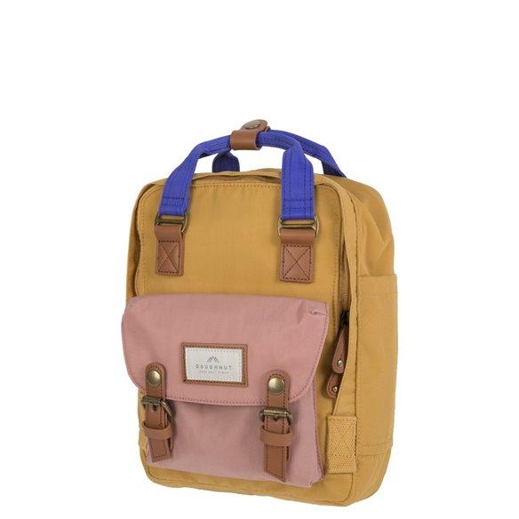Doughnut Macaroon Backpack Mini Yellow Rose