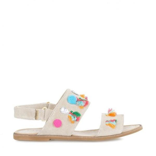 Nata Shoes Brasil Sandals Areia