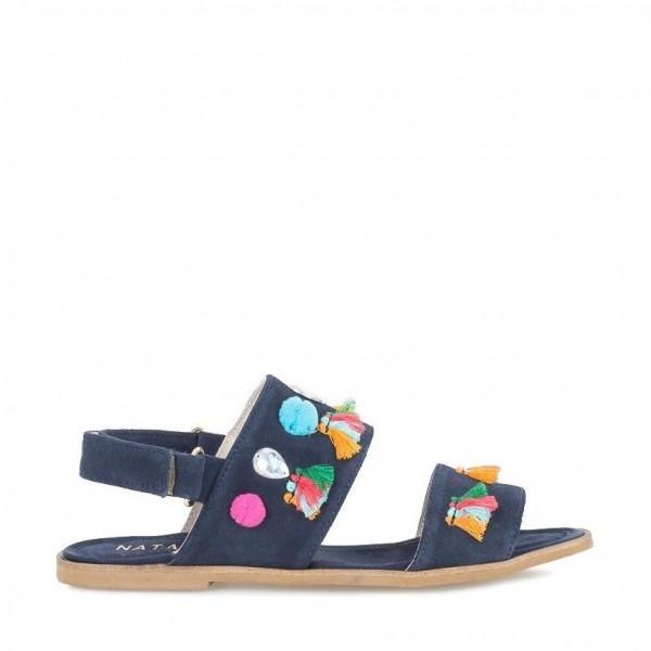 Nata Shoes Brasil Sandals Azul