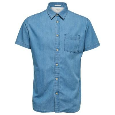 Selected Camisa Nolan Denim