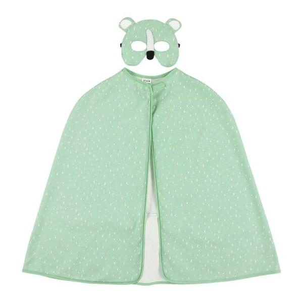 Trixie Cape and Mask Mr Polar Bear