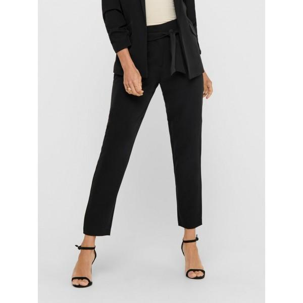 Only Carolina Belt Trousers Black