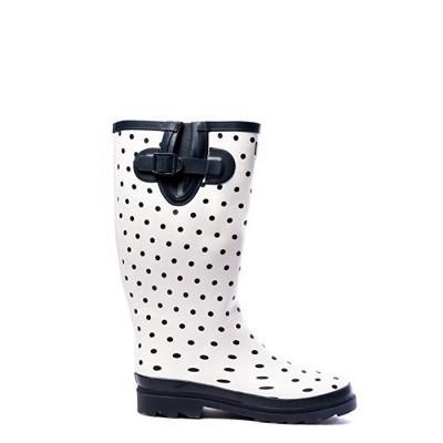 Hublot Bruine Boots Blanc...