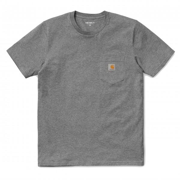 Carhartt T-Shirt Pocket Dark Grey...