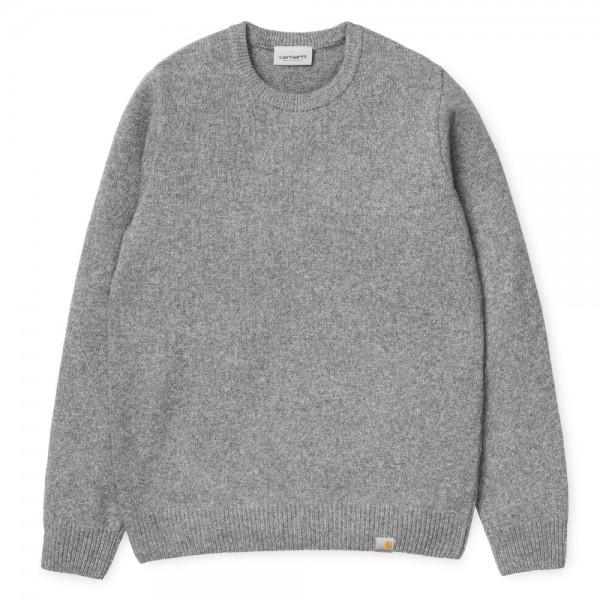 Carhartt Malha Allen Grey Heather