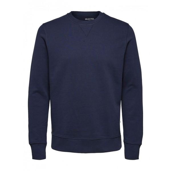 Selected Jason Sweatshirt Navy Blazer