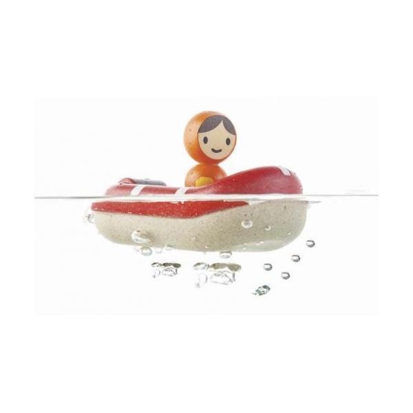 Plan Toys Barco Guarda Costeira