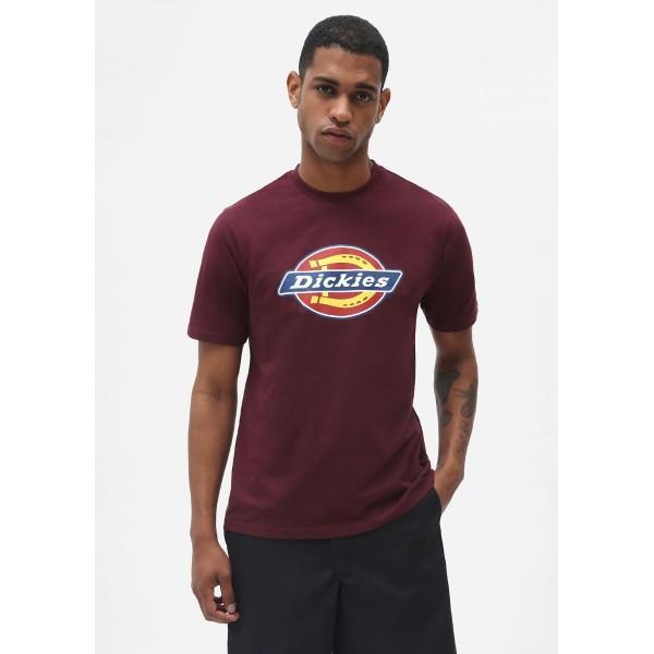 Dickies T-Shirt Icon Logo Maroon