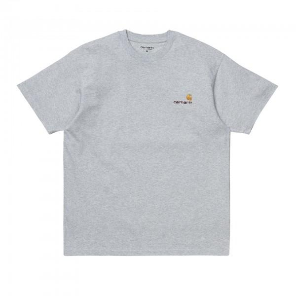 Carhartt T-Shirt American Script Ash...
