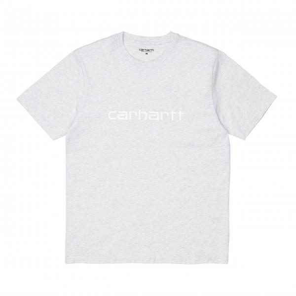 Carhartt T-Shirt Script I029915 Ash...