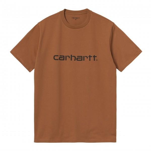 Carhartt T-Shirt Script I029915 Rum...