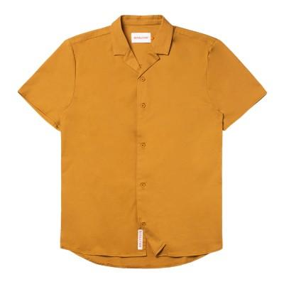 RVLT 3797 Cuban Shirt Yellow