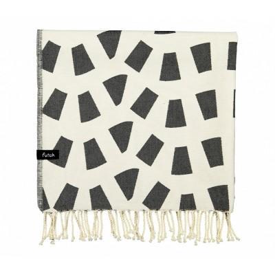 Futah Beach Towel Bicas Black