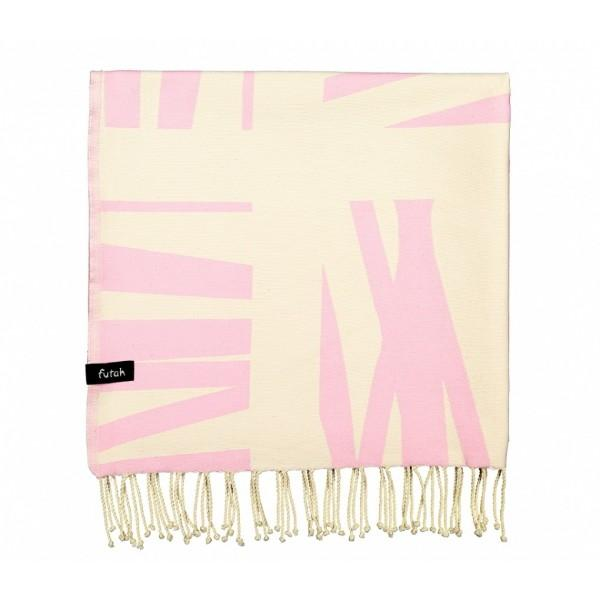 Futah Beach Towel Foupana Pink