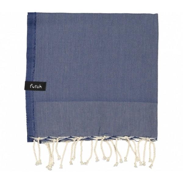 Futah Beach Towel Ericeira K Indigo Blue