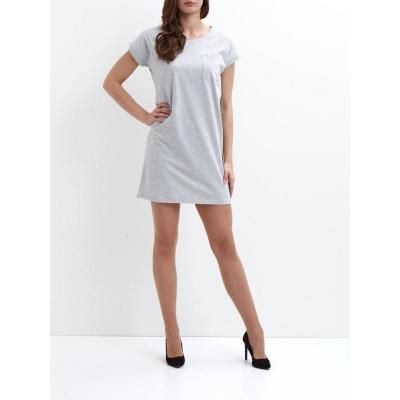 Vila Dreamers Dress Light Grey Melange