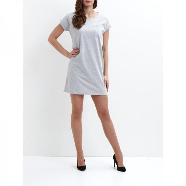 Vila Dreamers Dress Light Grey Melange