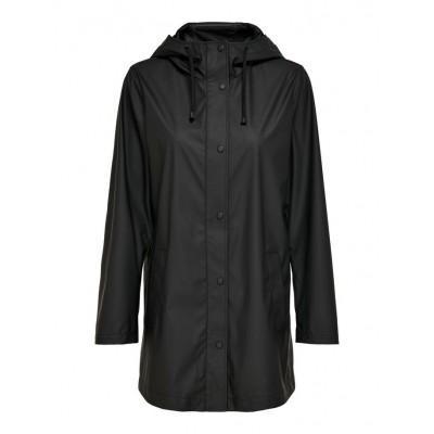 Only Ellen Rain Jacket Black