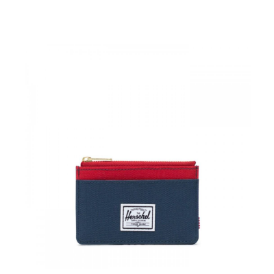Herschel Wallet Oscar Navy Red
