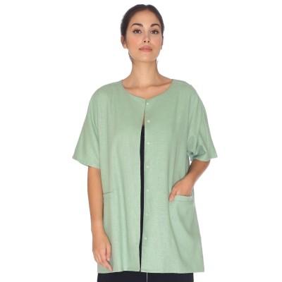 Pepaloves Casaco Linen Green