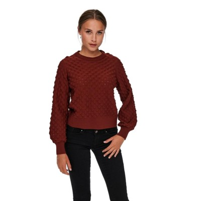 Only Dunja LS Knit Roasted...