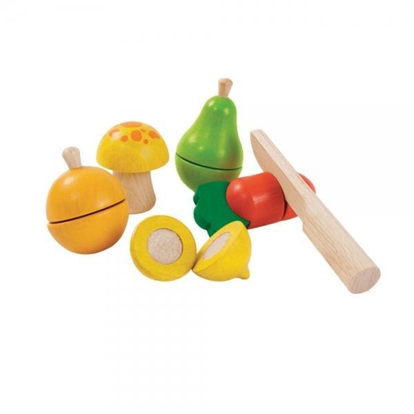 Plan Toys Set de Frutas e Vegetais