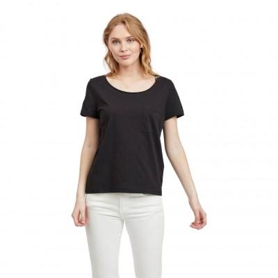 Vila T-Shirt Susette Black