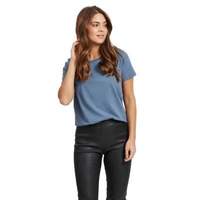 Vila Sus T-shirt China Blue
